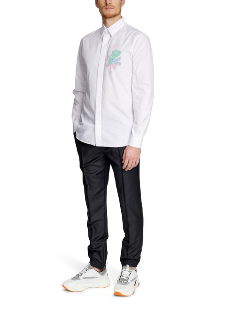 DIORFoxton Flower long sleeved shirt