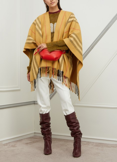BURBERRYWool and cashmere scarf