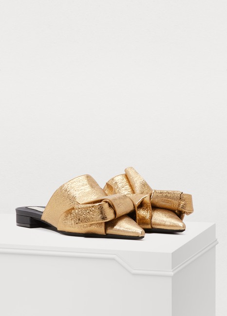 N 21Knotted mules