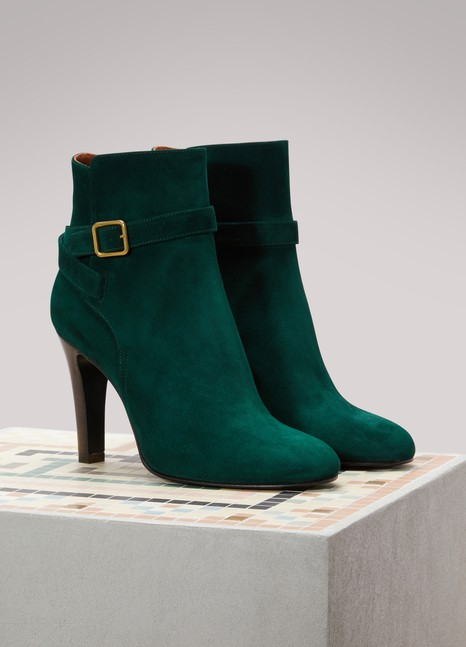 Michel VivienKarluz Suede Ankle Boots