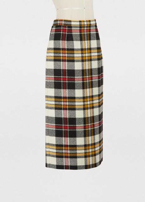Miu MiuWool pencil skirt