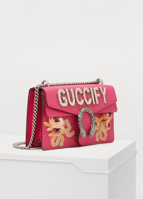 GucciDionysus leather shoulder bag