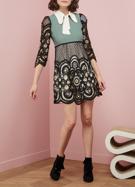 ChloéLaced mini dress
