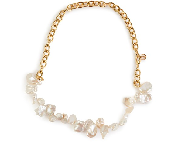 ANISSA KERMICHETwo Faced Shelley necklace