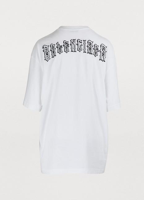 BalenciagaT-Shirt à manches courtes logo