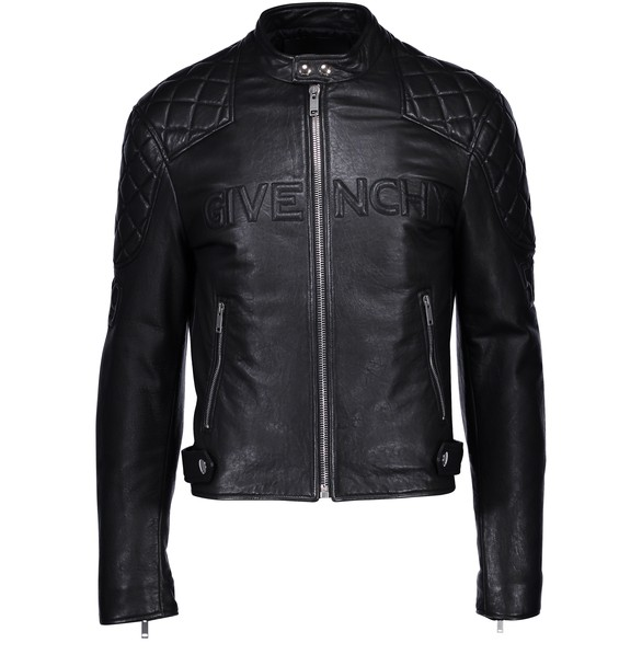 GIVENCHY Givenchy 1952 leather blouson