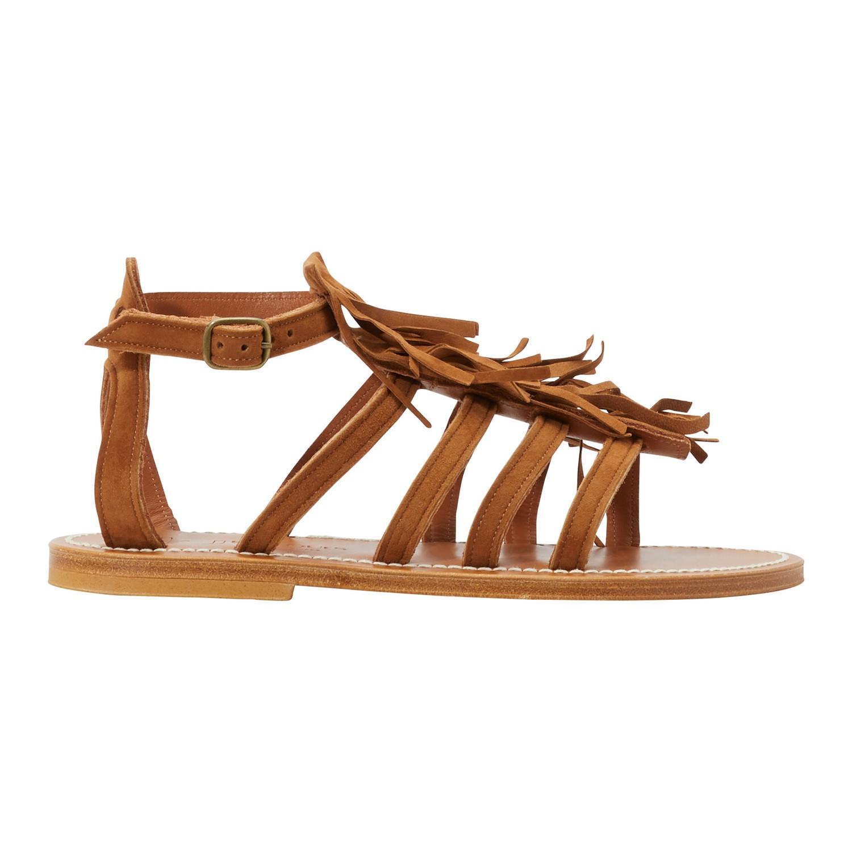 Sandales Frégate à franges