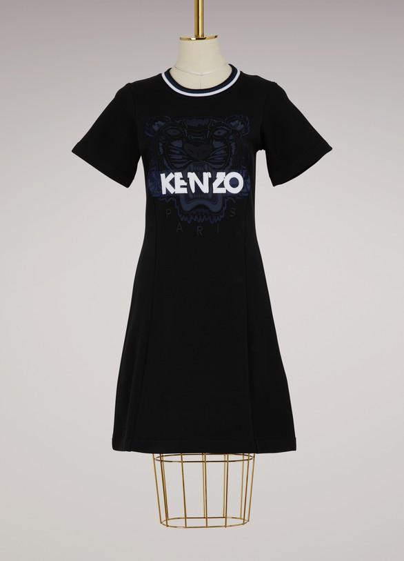 KenzoRobe évasée en coton