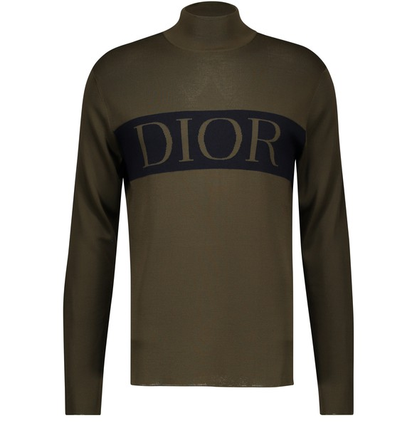 Technical Cashmere Sweater Dior Intarsia by Dior