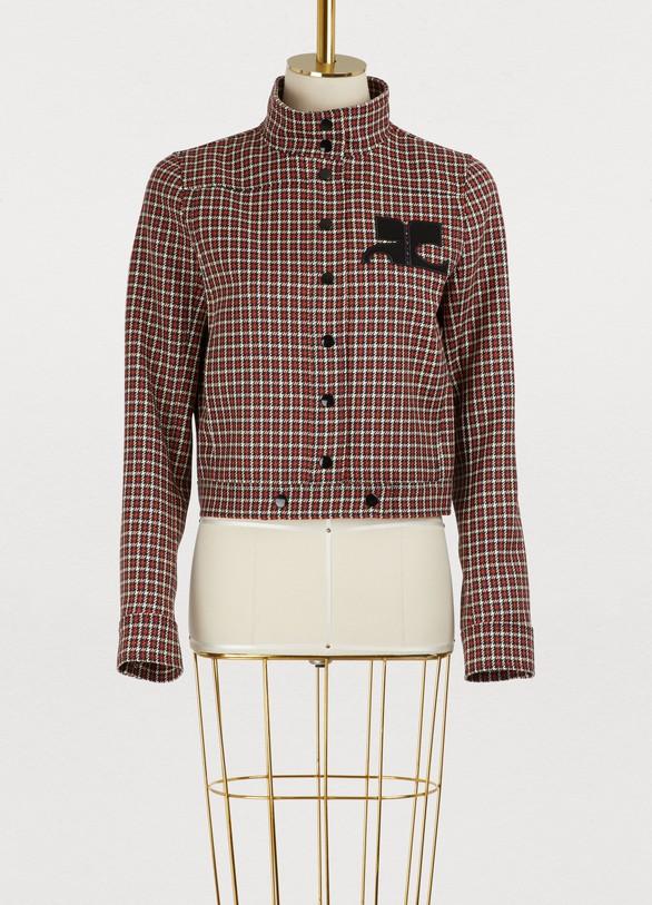 CourrègesWool short jacket