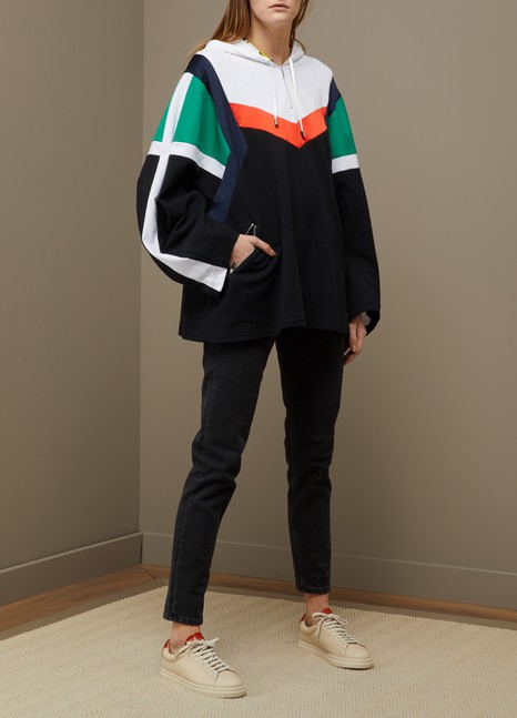 KochéSweatshirt à capuche patchwork