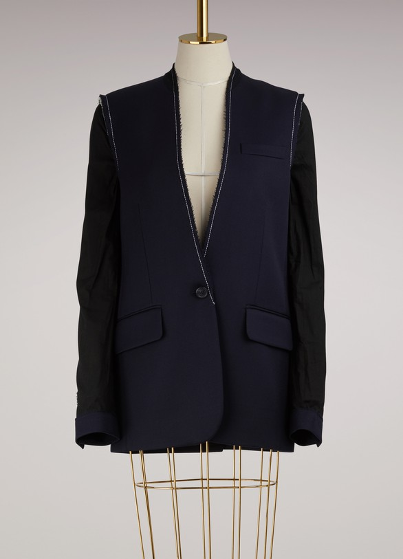 Maison Margiela Deconstructed Wool Blazer