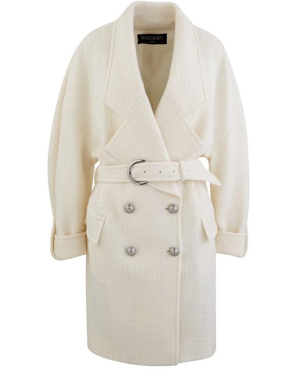 BALMAINWool coat