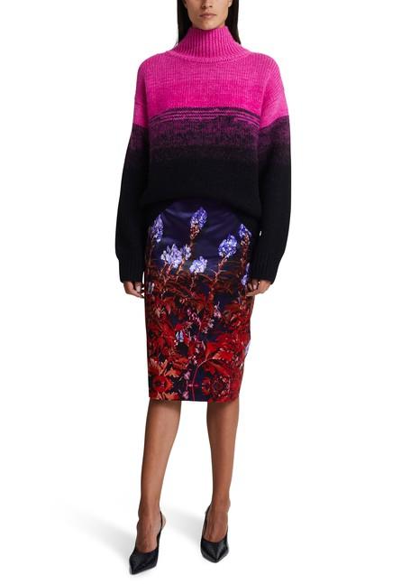 DRIES VAN NOTENPrinted skirt