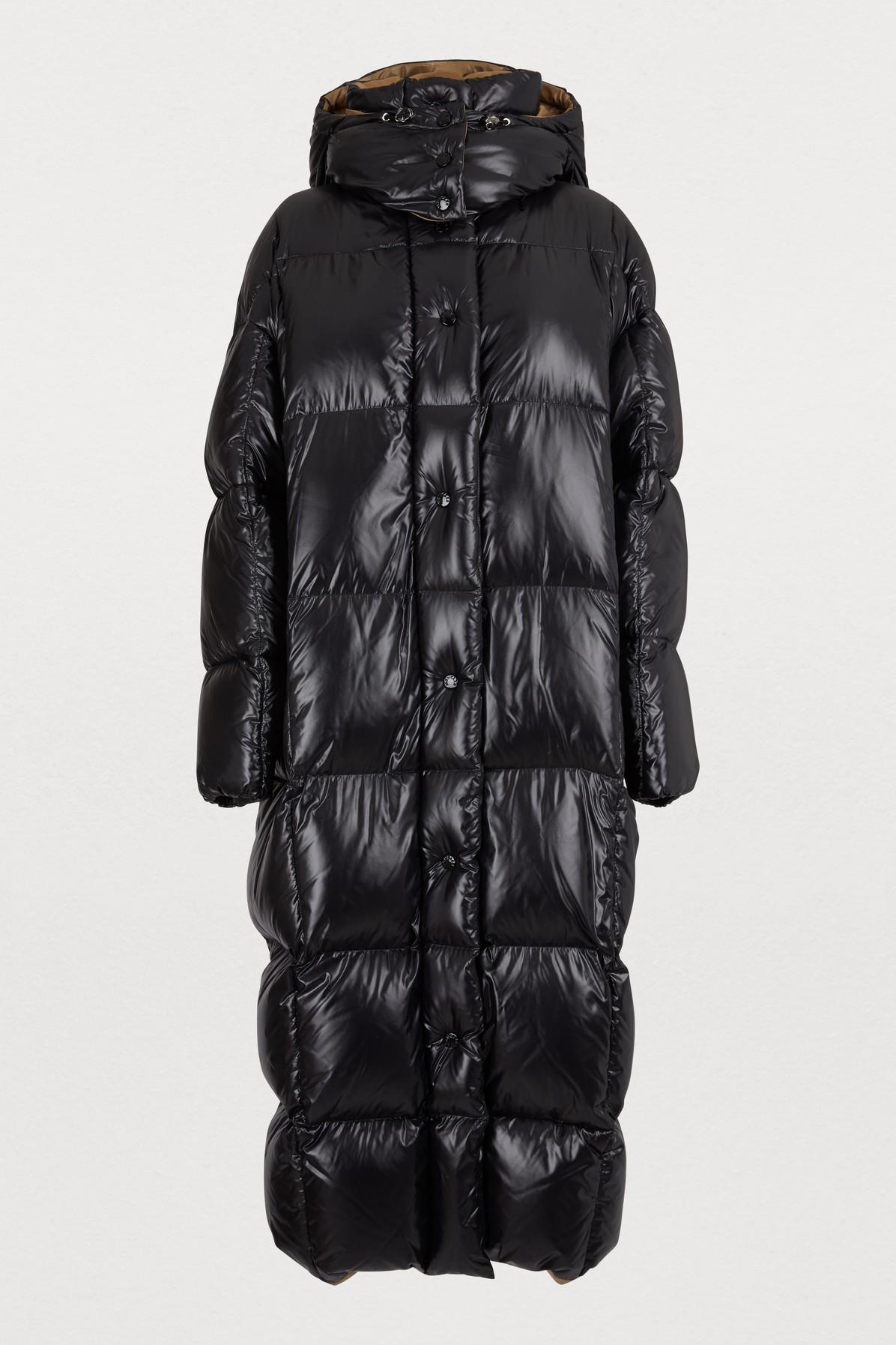 1527ffc51 Parnaiba Long Down Jacket in Black
