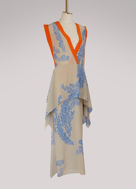 FendiLong sleeveless dress