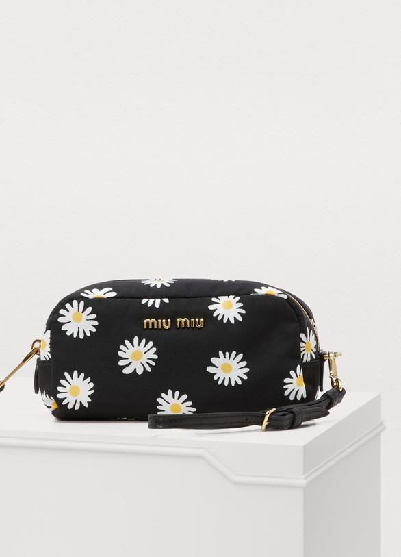 Miu MiuSmall floral print pouch