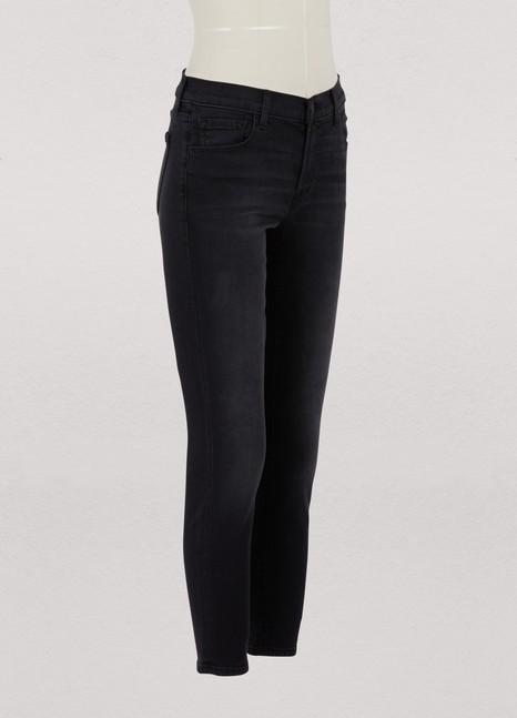 J BrandCapri mid-rise jeans