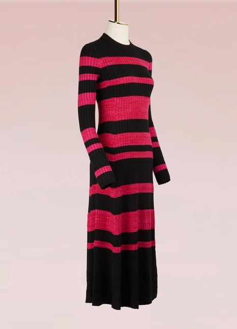 Proenza SchoulerRobe en laine à mailles fines
