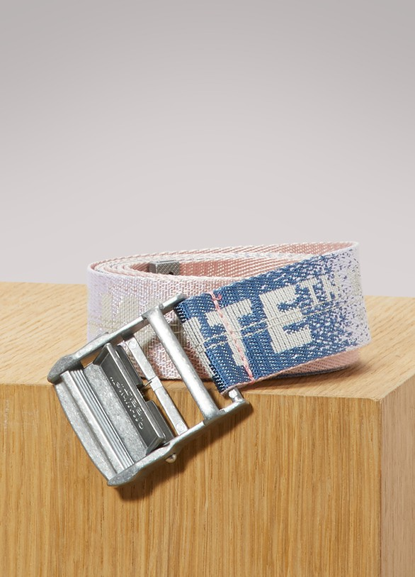 Off White Ceinture industrielle logo