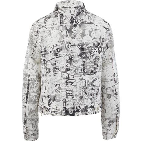 OFF-WHITEGraphite denim jacket