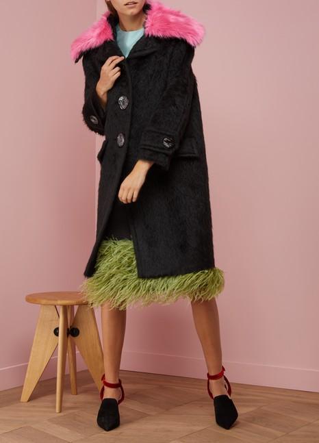 Prada Long Oversize Coat Cheap Sale Sneakernews MfGBh