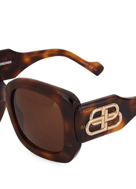 BALENCIAGAParis D-Frame sun glasses