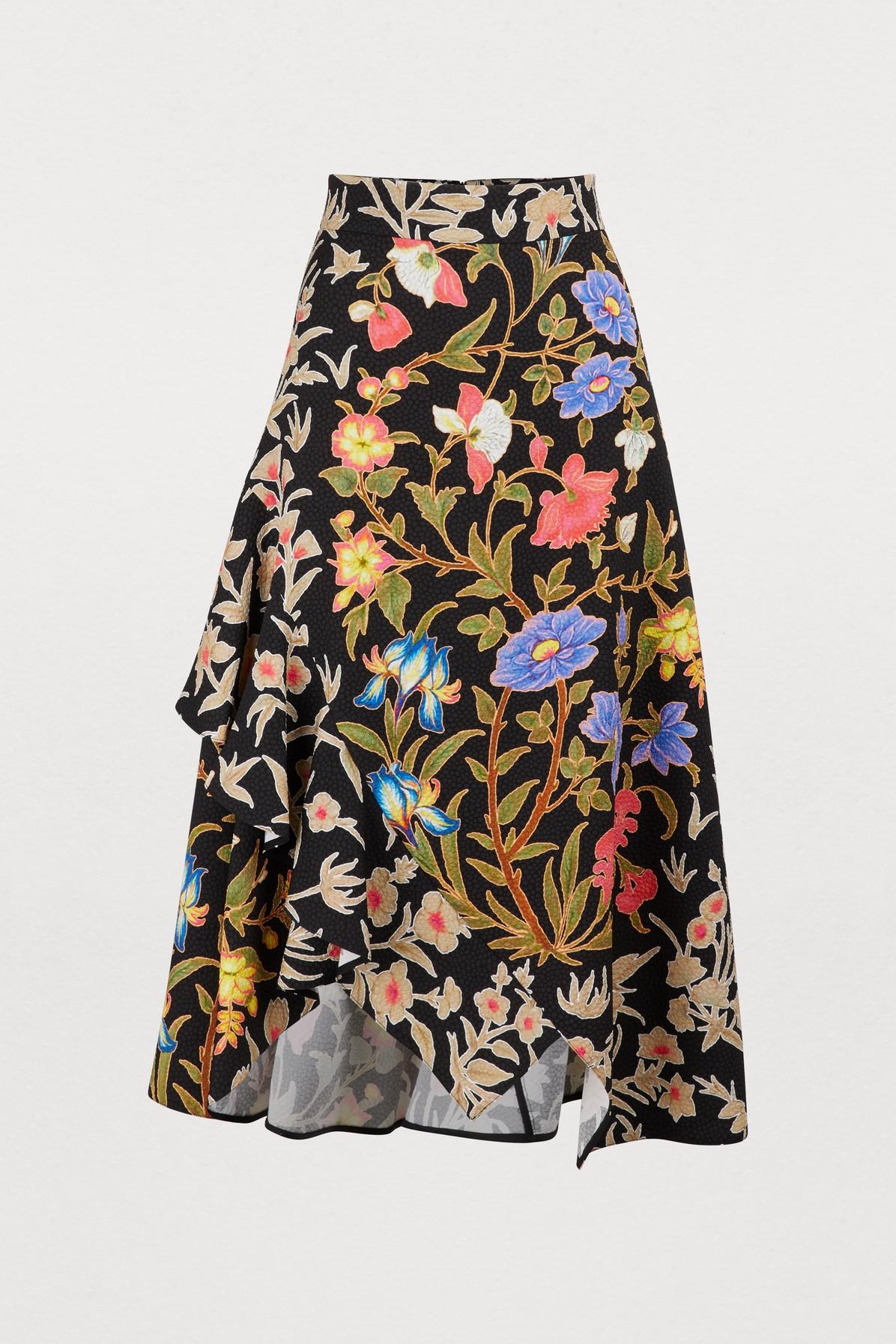 PETER PILOTTO | Printed Midi Skirt | Goxip