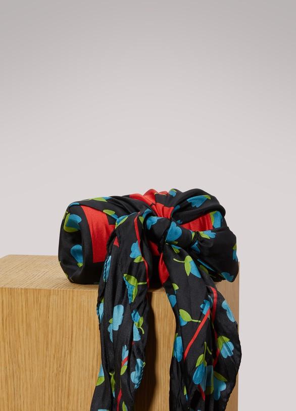 BalenciagaFlower scarf