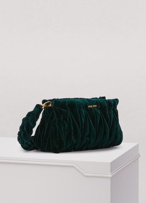Miu MiuVelvet Matelassé Big Crossbody Bag