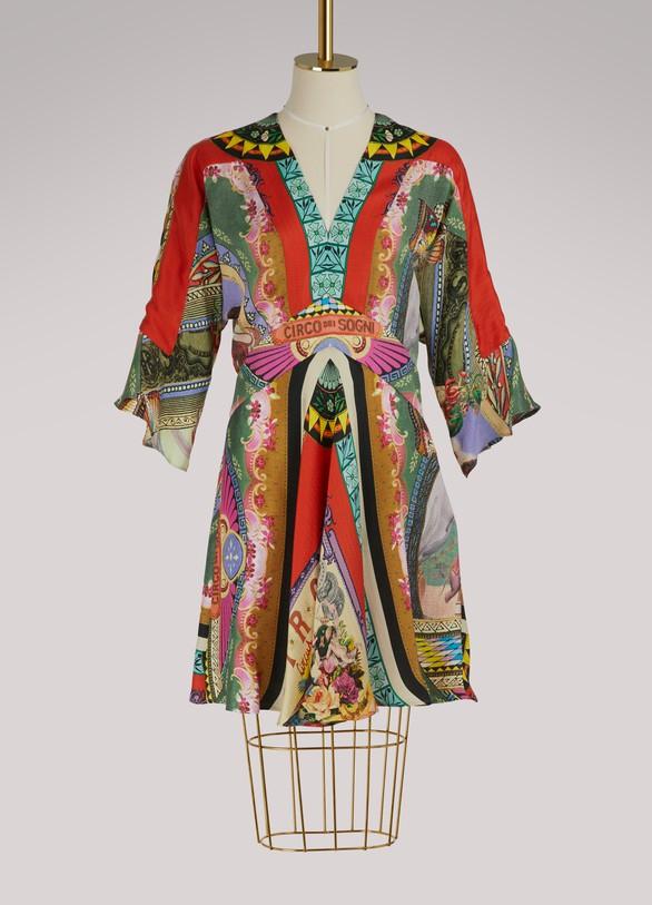 online store 86e28 7a174 Printed silk dress | Etro | 24 Sèvres