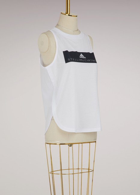 adidas by Stella McCartney Essentials logo tank top