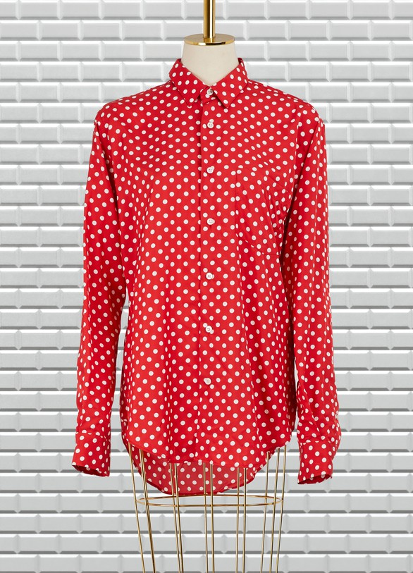 Ami Dotted shirt