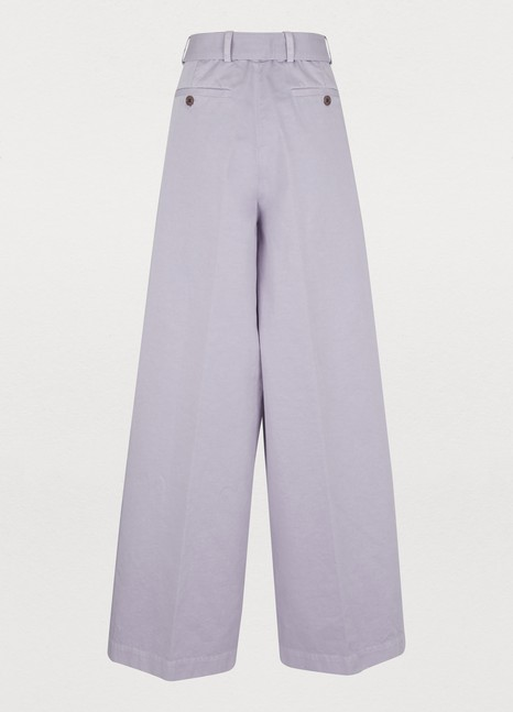 DRIES VAN NOTENCotton trousers