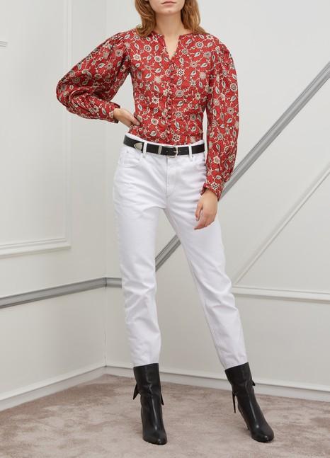 ETOILE ISABEL MARANTTilo linen shirt