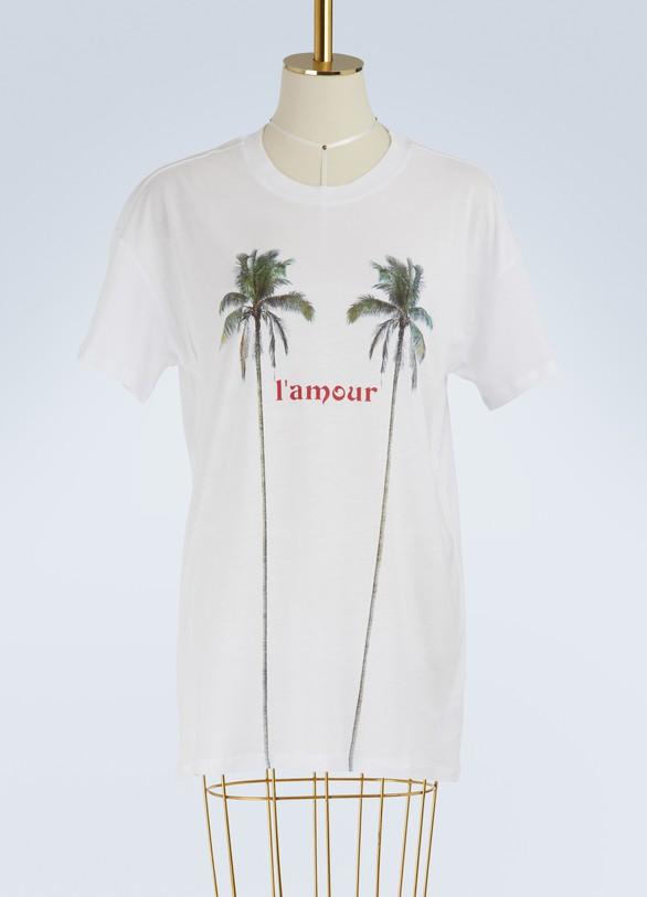 """Zoe KarssenT-shirt coupe boyfriend """"L'Amour"""""""