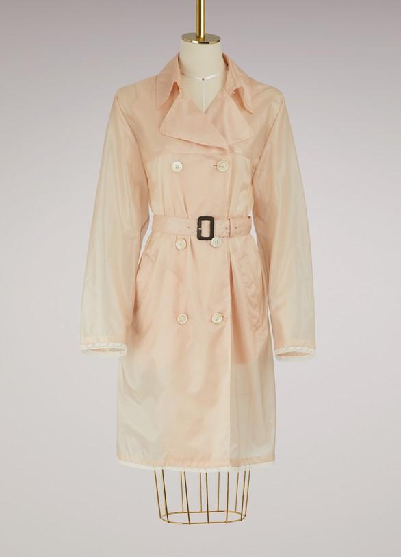PradaNylon trench coat