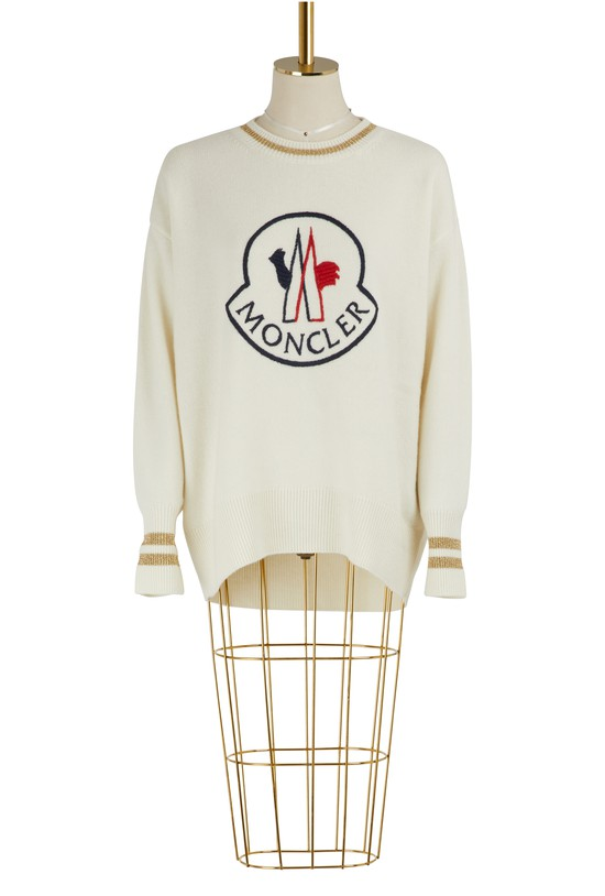 MONCLERWool and cashmere sweater