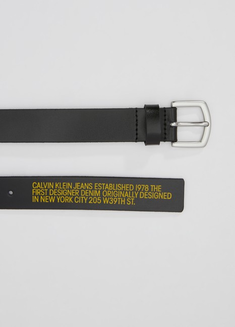 Calvin Klein est. 1978 Leather belt
