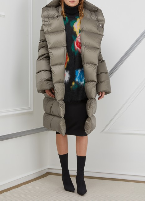 Rick Owens Long down jacket
