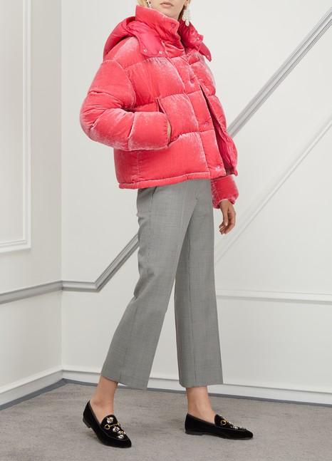 moncler jacket velvet