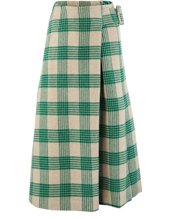 REJINA PYOEllis wool mix skirt
