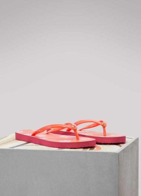 Tory BurchLogo flip-flops