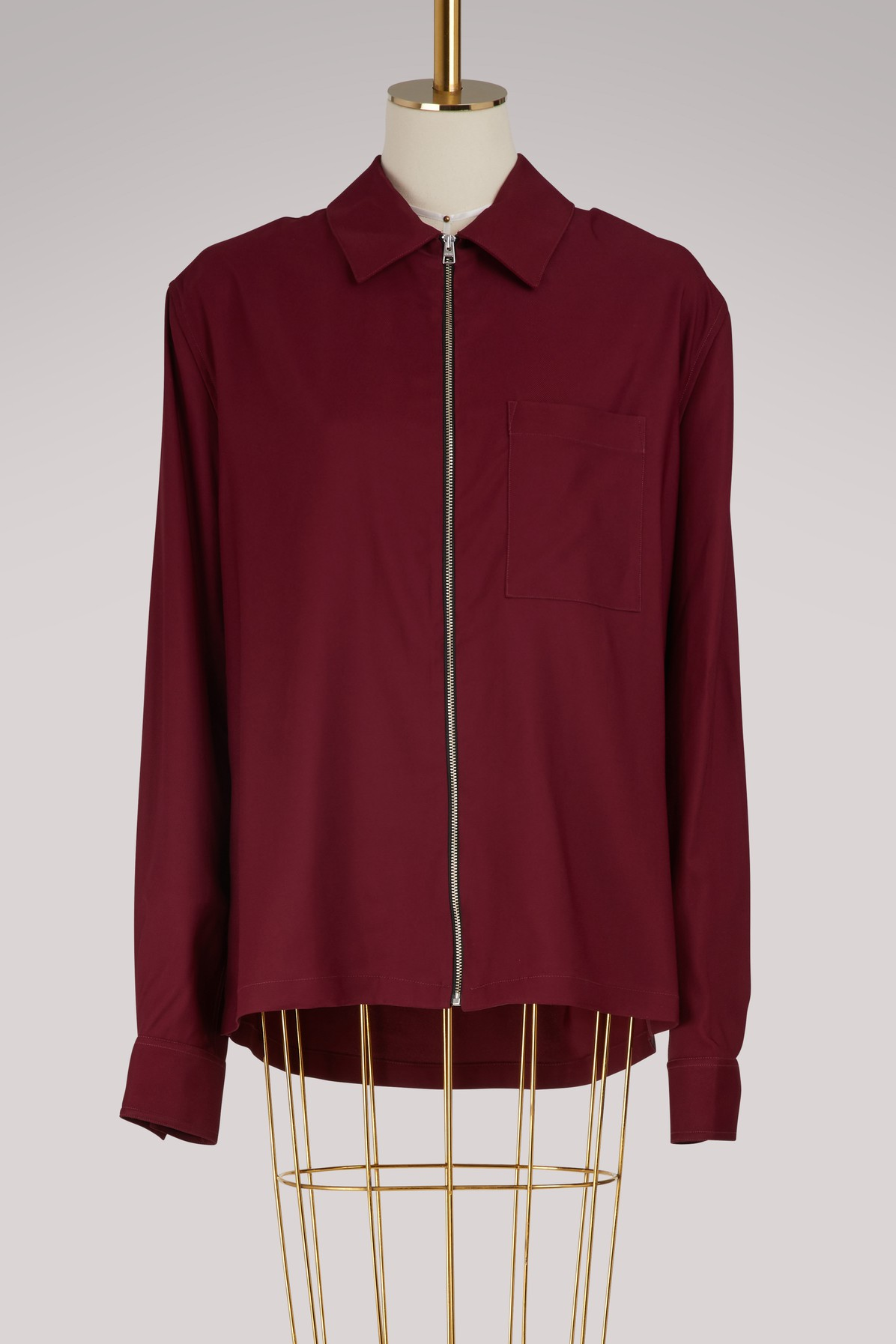 AMI | Zipped overshirt | Goxip