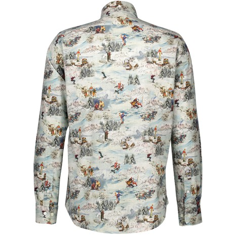 HARTFORDSide cotton shirt