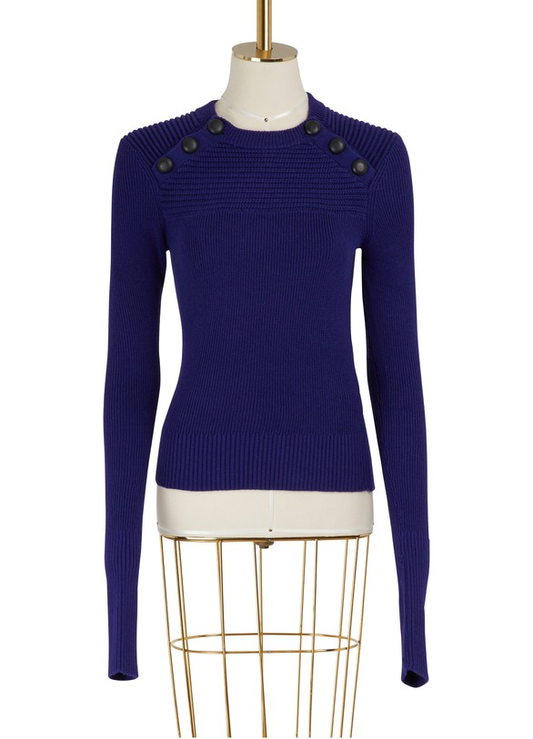 Koyle Cotton And Wool Sweater by Etoile Isabel Marant