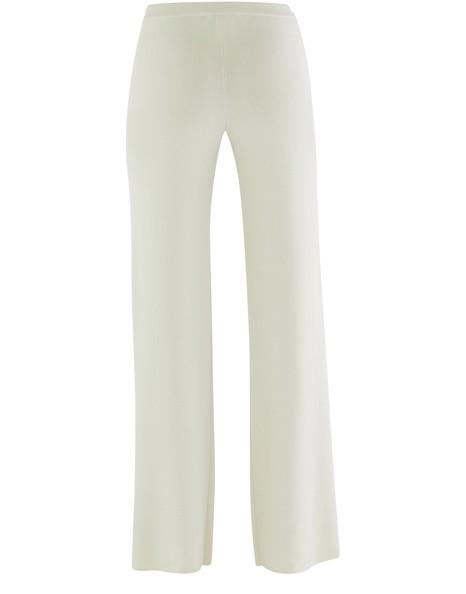 LORO PIANACanary wool trousers