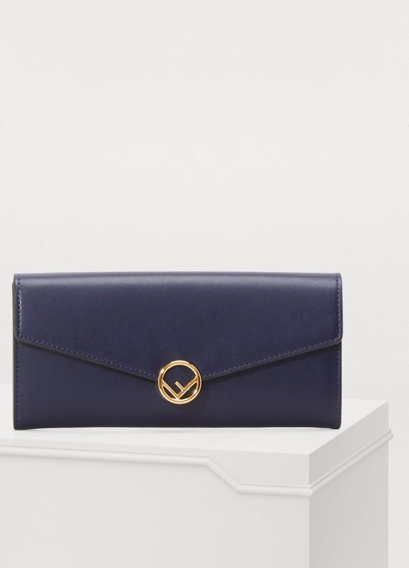 Portefeuille Continental femme   Fendi   24 Sèvres b7c52a72c96