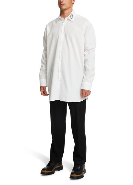 RAF SIMONSEmbroidered oversized shirt