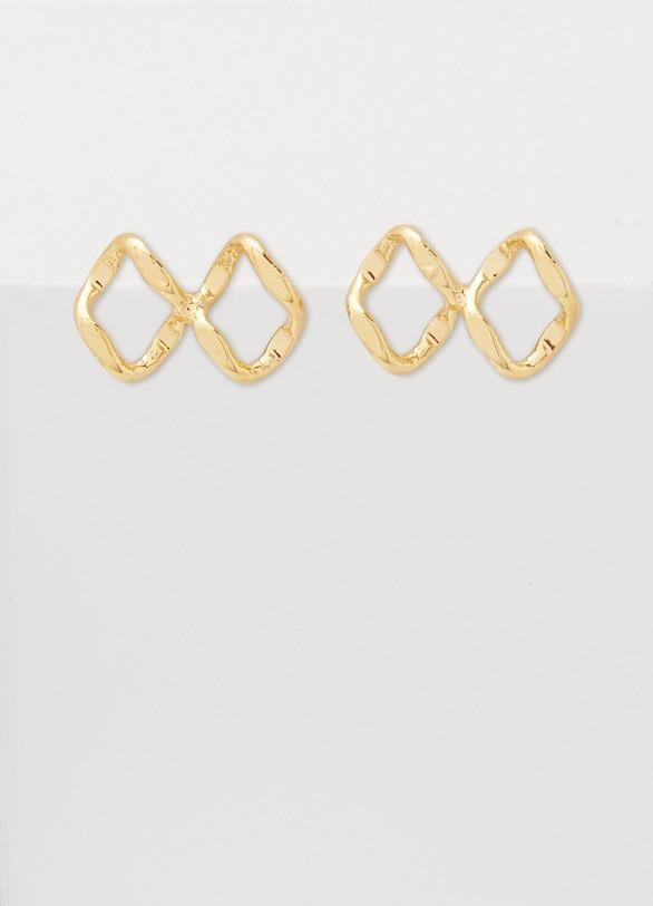 ImaïPapillon Gourmette earrings